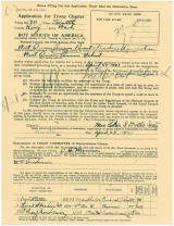 1921 Charter Application Page 1
